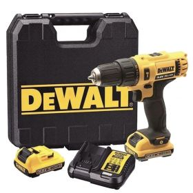 Perceuse à percussion DEWALT DCD716D2 10,8V (2x2Ah) Li-Ion mandrin 10mm