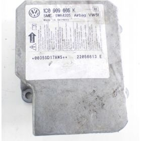 Calculateur d'airbag VW Polo / Fox / Golf / Suran / Skoda Fabia / Superb / Roomster ref 1C0909605K index 08