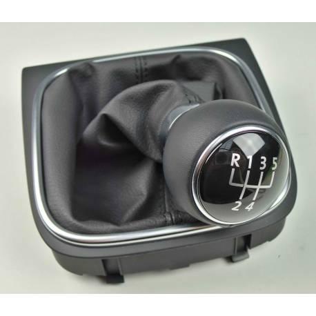 Pommeau + soufflet pour boite 5 rapports pour VW Golf 5 / Jetta ref 1K0711113CF
