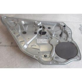 Mécanisme de lève-vitre arrière conducteur sans moteur VW Polo 9N 5 portes ref 6Q4839401C 6Q4839461D 6Q4839461F