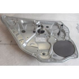 Mechanism of back window winder driver side without motor VW Polo 9N 5 portes ref 6Q4839401C 6Q4839461D 6Q4839461F