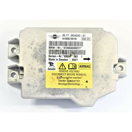 Calculateur airbag Mini Cooper ref 0285001430 / 66776915886