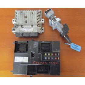 KIT COMPLET CALCULATEUR MOTEUR FORD TRANSIT BK21-12A650-AC S180146202-A