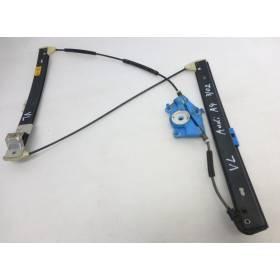 Mécanisme de lève-vitre conducteur pour Audi A4 type B6 / B7 ref 8E0837461 / 8E0837461A / 8E0837461B / 8E0837461C
