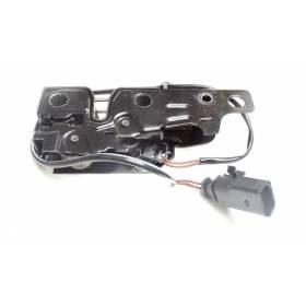 Serrure de capot avec contacteur pour Audi A3 8P ref 8P0823509B / 8P0823509C / 8P0823509D