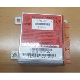 Airbag crash sensors module Fiat Punto 51726575