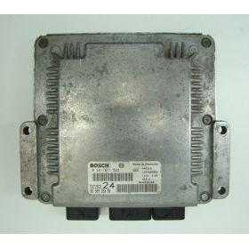 Calculateur moteur Peugeot 607 / 807 Citroen C8 2.2 HDI ref 9650932080 Bosch 0281011522