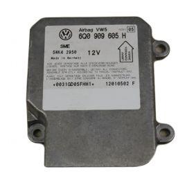 Airbag crash sensors module VW SEAT SKODA ref 6Q0909605H 6QO909605H  Index 05