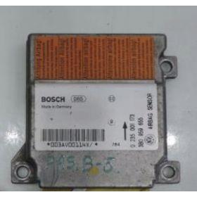 Airbag crash sensors module VW Passat 3B ref 3B0959655 bosch 0281001173