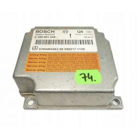 Airbag crash sensors module MERCEDES VITO A6394460442 Bosch 0285001448