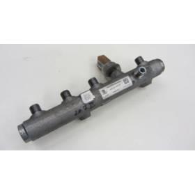 Rampe d'injection gauche pour Audi A4 / A5 / A6 ref 059130089AH + capteur ref 059130758K