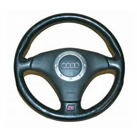 Volant en cuir 3 branches avec airbag pour Audi TT type 8N ref 8N0880201