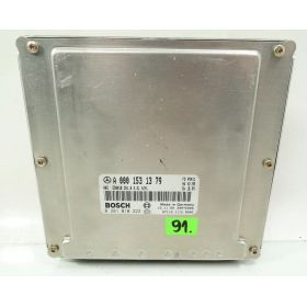 ENGINE ECU  MERCEDES W202 W210 220 CDI ref A0001531379 Bosch 0281010222