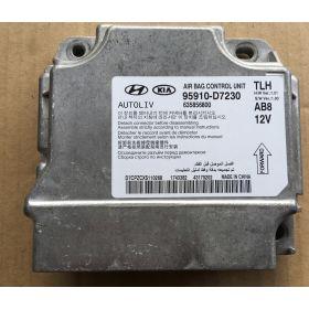 Airbag control module unit Hyundai Tucson 95910-D7230 Autoliv 635856800