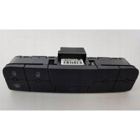 Bouton feu de détresse / Warning / Interrupteur multiple noir carbone pour Seat Ibiza type 6J ref 6J0927137AS ***