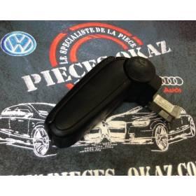 Accoudoir d'origine cuir noir complet pour Audi A6 Break type 4B ref 4B0864207K 6DP / 4B0864207F / 4B0864207N