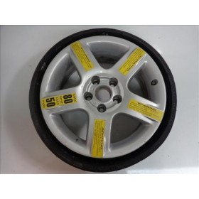 Roue de secours / Jante aluminium 6,5J X 16H2 ET16 entraxe 5X112 avec pneu run flat ref 4Z7601025B / 4Z7601011R