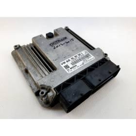 Engine control / unit ecu motor VW AUDI SEAT SKODA 2.0 TDI 04L907309D Bosch 0281018498