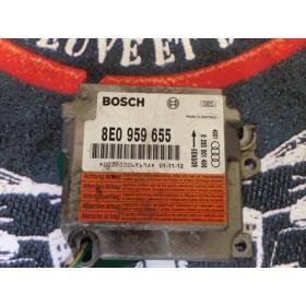 AIRBAG CONTROL MODULE ECU AUDI A4 B6 ref 8E0959655 Bosch 0285001400