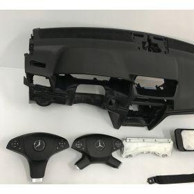 Planche de bord complète avec airbag sac gonflable ceinture pretentionneur MERCEDES W207 avant relifting