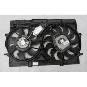 Radiator motor fan Audi A4 / A5 / Q5 ref 8K0959455H 8K0959455E 8K0121003N 8K0121207D Bosch 3135103781 1137328551 1137328315