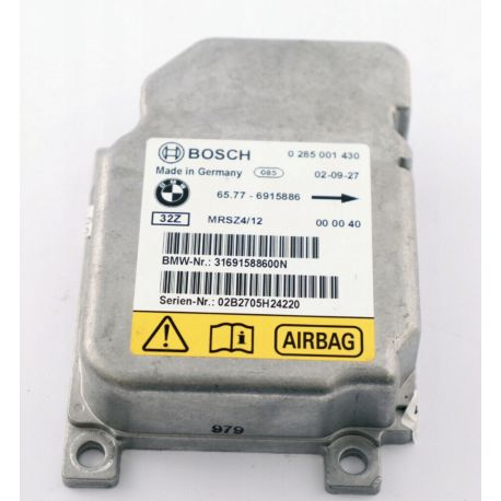 Airbag Ecu Module Control Unit Mini Cooper ref 65.77-6915886 Bosch 0285001430