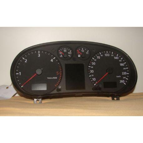 Compteur / combiné porte-instruments pour Audi A3 8L ref 8L0920900G / 8L0920900GX