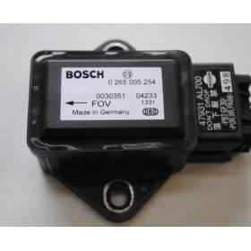 Capteur combiné d'accélération ESP / Capteur ESP MAZDA NISSAN 47931-AL700 Bosch 0265005254