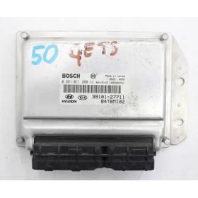 Calculateur moteur HYUNDAI GETZ 1.5 CRDI 39101-27711 Bosch 0281011260
