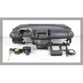 Planche de bord complète avec airbag sac gonflable ceinture pretentionneur NISSAN NOTE +++
