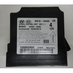 Airbag control module unit KIA RIO 95910-1W400 MOBIS 1W959-10400 Continental 5WK44613