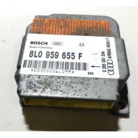 Calculateur d'airbag Audi A3 8L ref 8L0959655F Bosch 0285001304