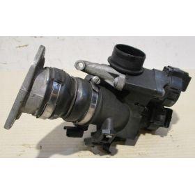 Boitier ajustage / Papillon Peugeot Citroen 1.6 HDi 9686487880