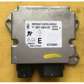 airbag ecu Ford Fiesta mk5 / FORD Courrier YS6T14B056AC YS6T-14B056-AC Bosch 0285001348
