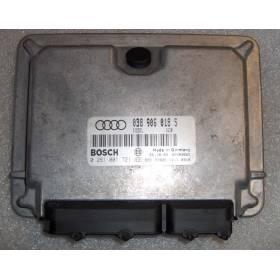 Engine control / unit ecu motor Audi A4 B5 1L9 TDI  AFN ref 038906018S / Ref Bosch 0281001721
