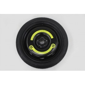 Galette roue de secours VW Audi Seat 125 70 R18 entraxe 5X100 ref 1J0601027M