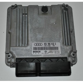 Calculateur moteur pour Audi A3 2L TDI 140 cv BKD ref 03G906016G / 03G906016X Ref Bosch 0281011364 / 0 281 011 364