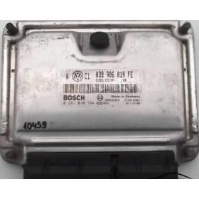 Engine control / unit ecu motor VW Golf 4 / Bora 1L9 TDI 150  ARL ref 038906019FE / Ref Bosch 0281010744 / 0 281 010 744