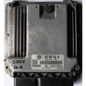 Calculateur moteur Seat Leon 2 1L9 TDI 105 ref 03G906016AK / Ref Bosch 0281011884