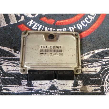 Calculateur moteur pour Audi A3 1L9 TDI 100 cv moteur ATD ref 038906019GC ref Bosch 0281010892 / 0 281 010 892