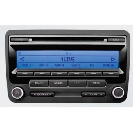 Autoradio CD RCD 310 pour VW ref 1K0057186AA / 1K0057187AX
