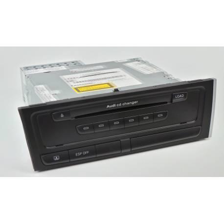 Chargeur 6 CD pour Audi A4 ref 8T1035110C / 8T1057110C