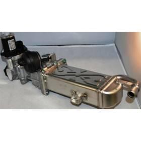 Refroidisseur des gaz d'échappement avec clapet ref 03L131512BB / 03L131512AT / 03L131512BJ / 03L131512CF / 03L131512BL