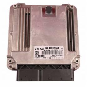 KOMPUTER SILNIKA / STEROWNIK VW GOLF 2.0 TDI 04L906021AD Bosch 0281018526
