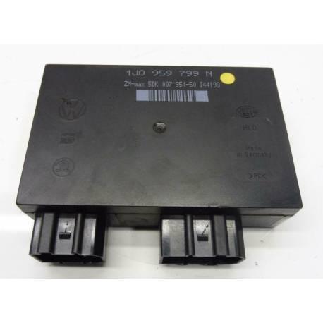 Boitier confort / Commande centralisée pour système confort ref 1J0959799N / 1J0959799P