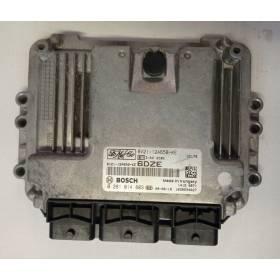 Engine control / unit ecu motor FORD FIESTA MK7 1.6 TDCI 8V21-12A650-KE Bosch 0281014803
