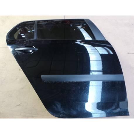 Porte arrière passager modèle 5 portes pour VW Golf 5 coloris noir L041 ref 1K6833106J + 1K6833302AA
