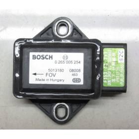 Capteur combiné d'accélération ESP INFINITI G35 F153-43-7Y1 Bosch 0265005254