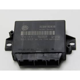 Calculateur d'aide au stationnement pour VW Passat 3C ref 3C0919283B / Ref Valeo 601.903