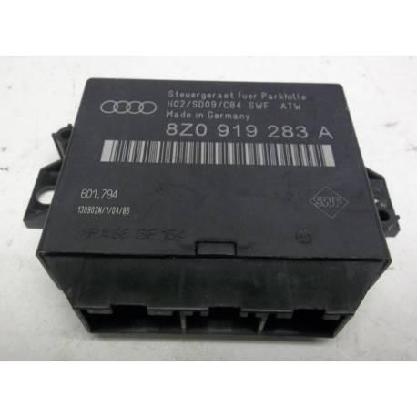 Calculateur pour aide au stationnement pour Audi A2 / A4 ref 8Z0919283A / Ref 601.794